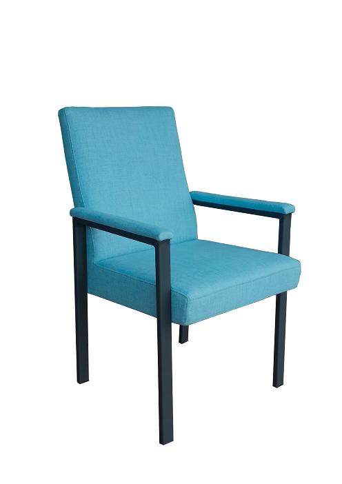 blauwe axis stoel