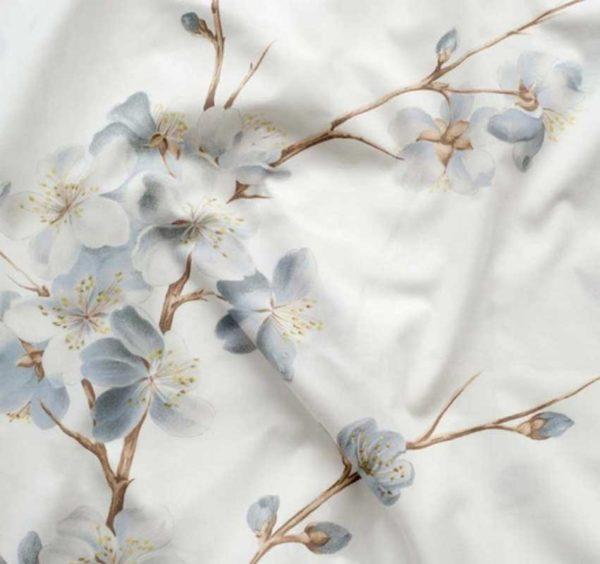 Dekbedovertrek Dommelin Flowers Flora blauw
