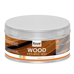 Gewaxed hout